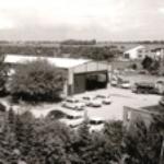 1973 - Betriebsgelände in Cuxhaven, Brockeswalde