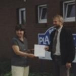 1997 - Zertifizierung zum Entsorgungsfachbetrieb