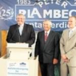 2008 - Die Firma Peter Plambeck Containerdienst feiert 25-jähriges Bestehen
